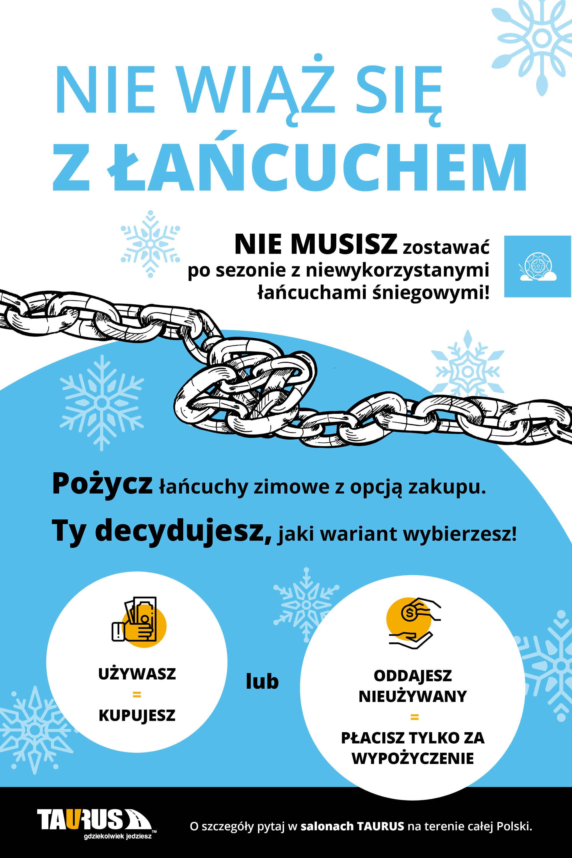 Taurus rusza z usługą wypożyczenia łańcuchów śniegowych - otopr.pl