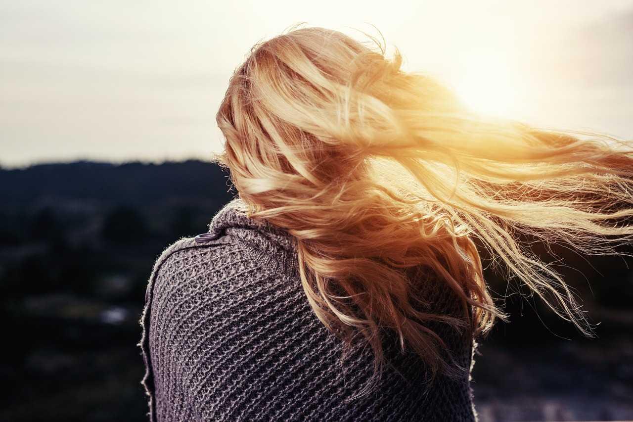 Dziewczyna włosy