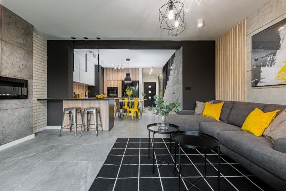 Wnętrza w stylu soft loft