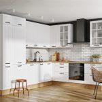 Biała nowoczesna kuchnia