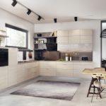 Kuchnia w kolorze drewna