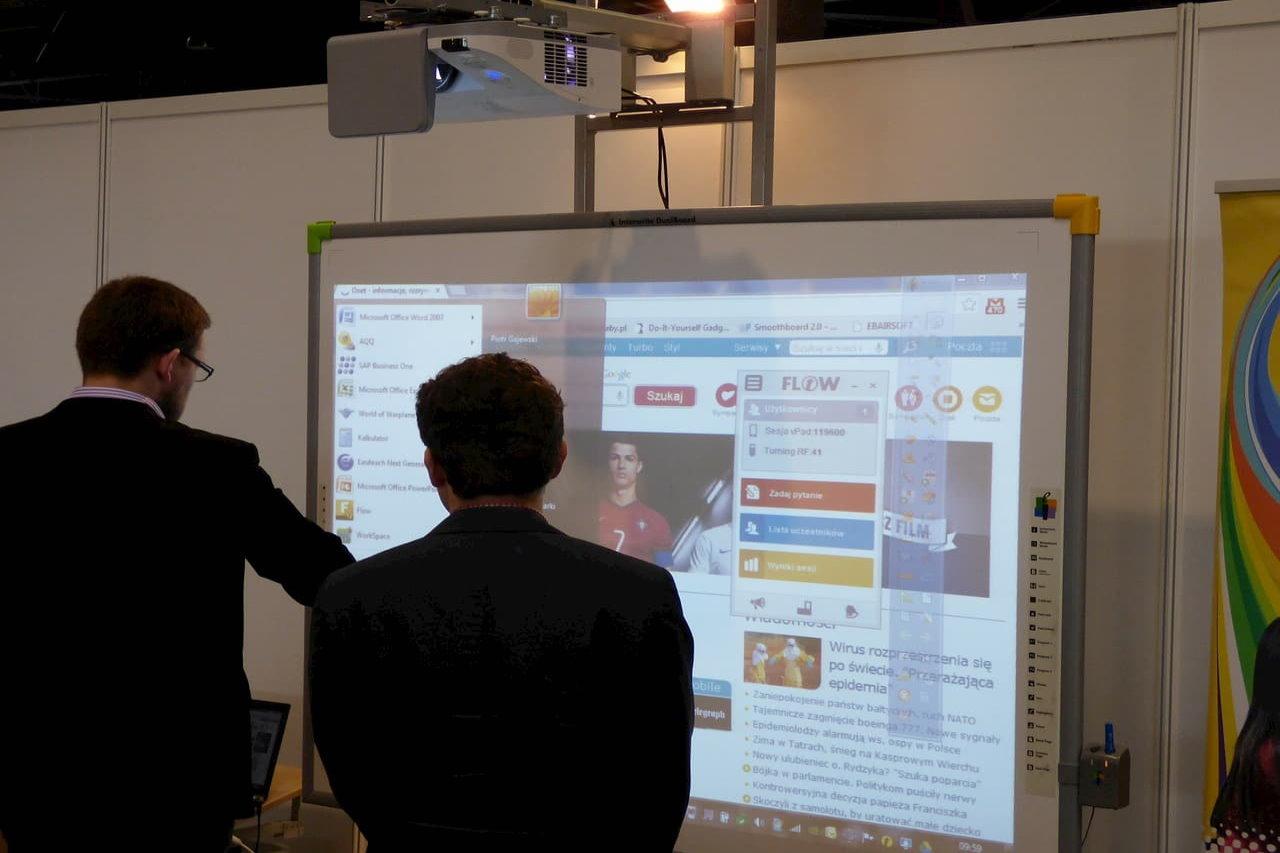 Nauka dzięki tablicom interaktywnym